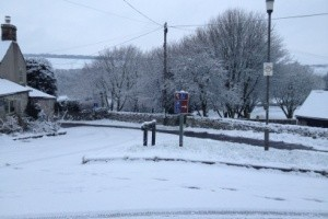 Snow in Over Haddon