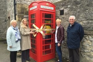 The unveiling of the defibrillator.